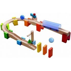 Mijn eerste knikkerbaan tunnel - selection haba nieuw 2013 | Activiteitenspeelgoed 1-2.5j | Krokodil