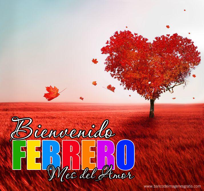 Bienvenido Febrero Mes Del Amor Bienvenido Febrero Amor Y