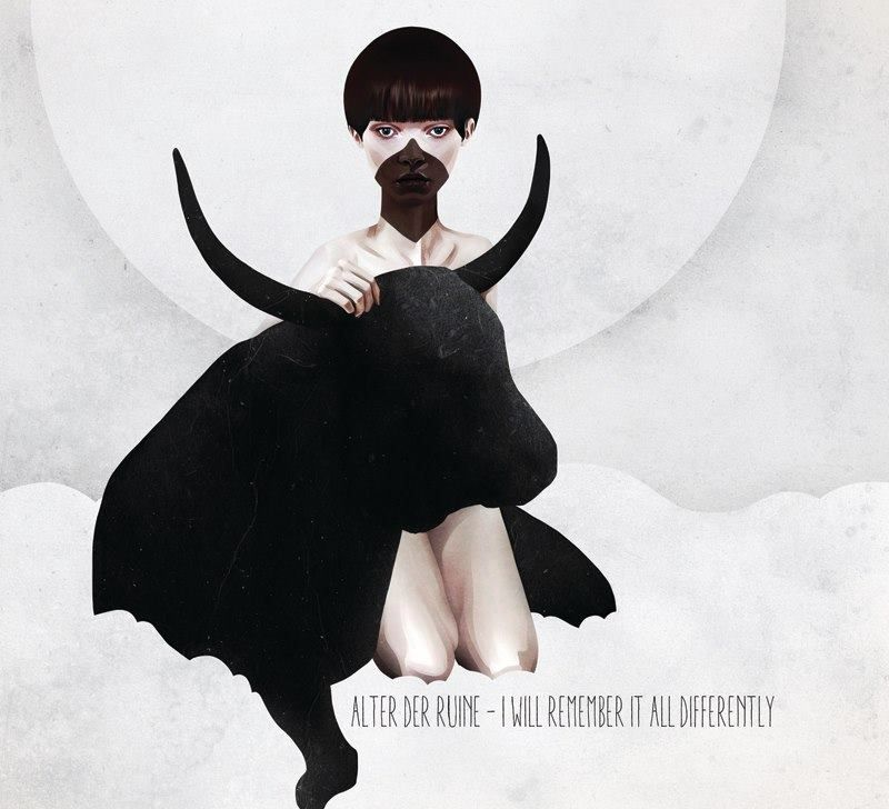 La inocente y misteriosa ilustración de Ruben Ireland | OLDSKULL.NET