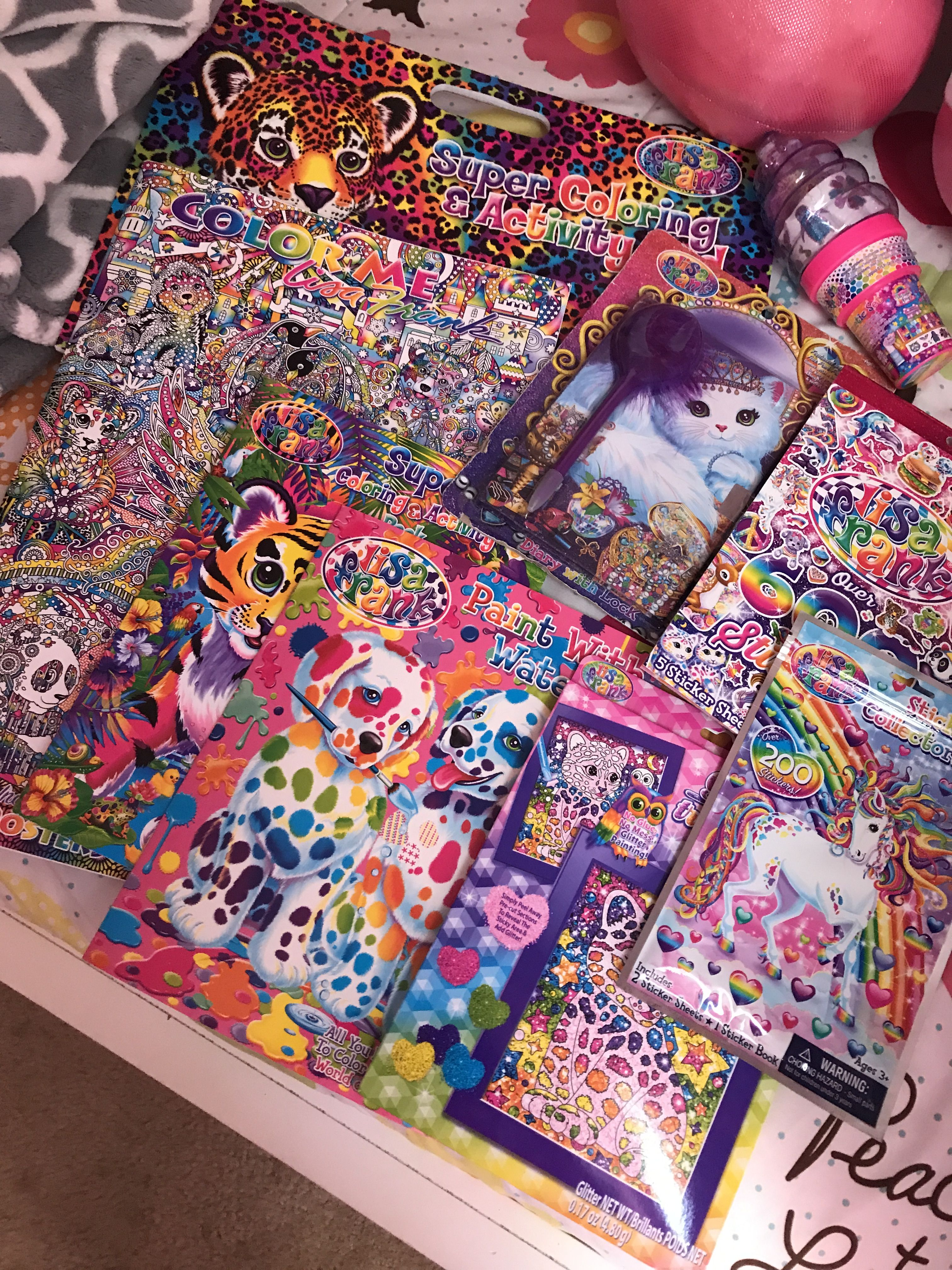 Pin By Blue Eyed Cheri On Addison S 9th Lisa Frank Party Art School Supplies Cross Paintings Lisa Frank