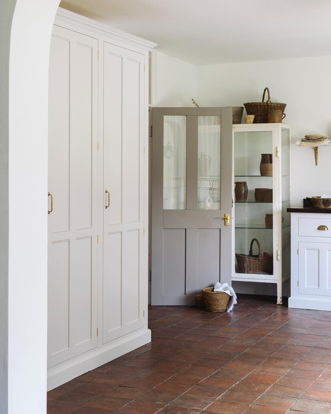 devol kitchens on instagram u201ca terracotta floor a classic english rh pinterest com