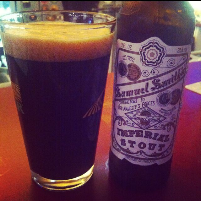 Samuel Smith Imperial Stout - Beer
