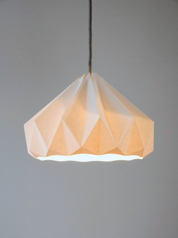 Chestnut paper origami lampshade white by nellianna on etsy 8900 chestnut paper origami lampshade white by nellianna on etsy 8900 aloadofball Gallery