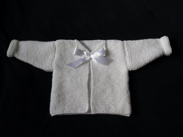 Knitting Pattern Baby Jacket Garter Stitch : Ravelry: Garter Stitch Baby Jacket pattern by Linda Dawn BABY SWEATERS Pi...