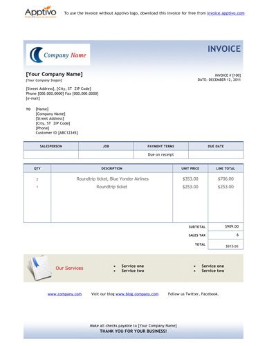 Travel invoice template Free Invoice Template Online Pinterest - invoice spreadsheet template free