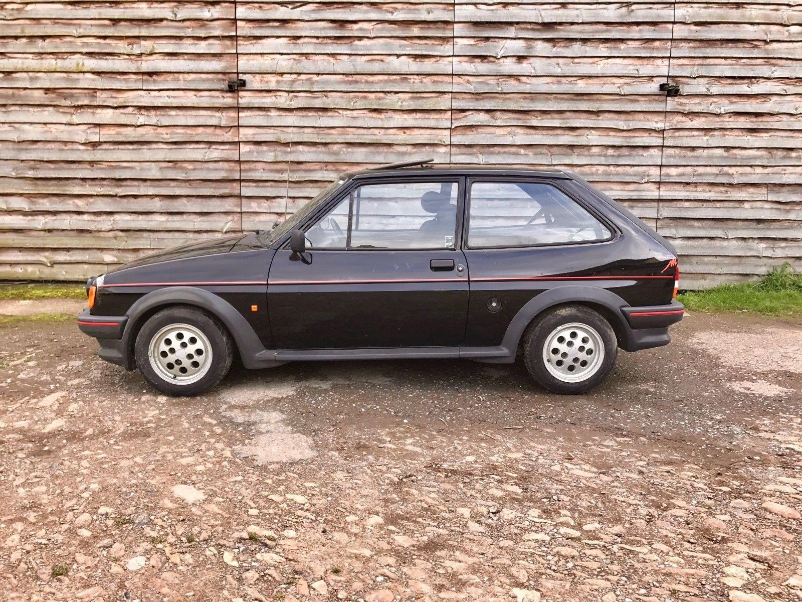 1986 C Ford Fiesta Black Barn Find Spares Or Repair