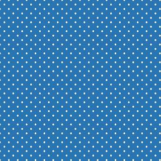 **FREE ViNTaGE DiGiTaL STaMPS**: Free Digital Scrapbook Paper - Blue w/White Polka Dots