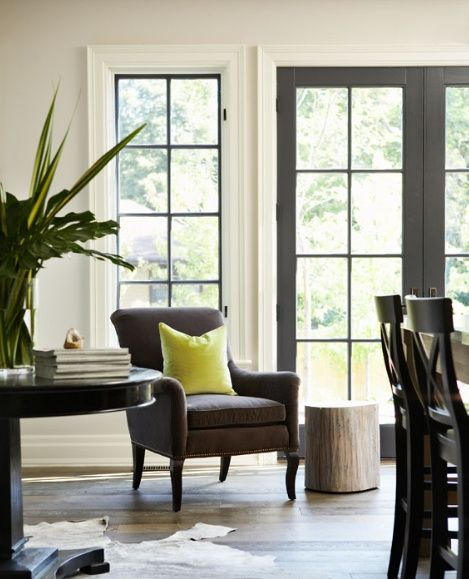 Black French Doors Patio finding fabulous: inspirationblack painted french doors