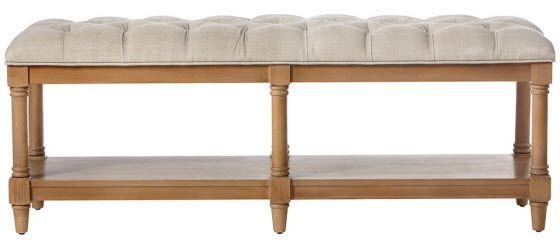 montaigne bench from home decorators house shoe storage bench rh pinterest com