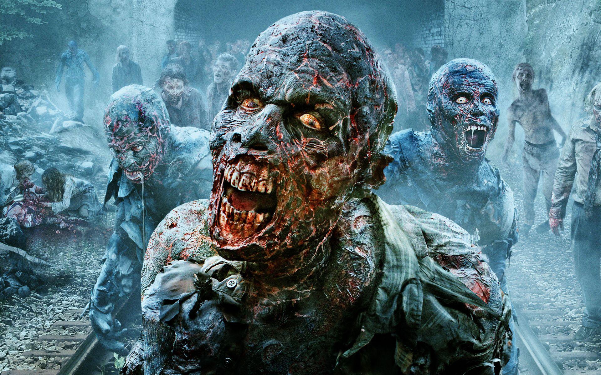The Walking Dead Zombies Scary wallpaper Scary wallpaper