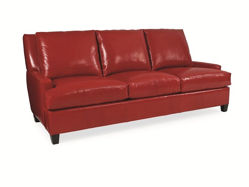 Red Leather Sofa Sofa Furniture Leather Sofa