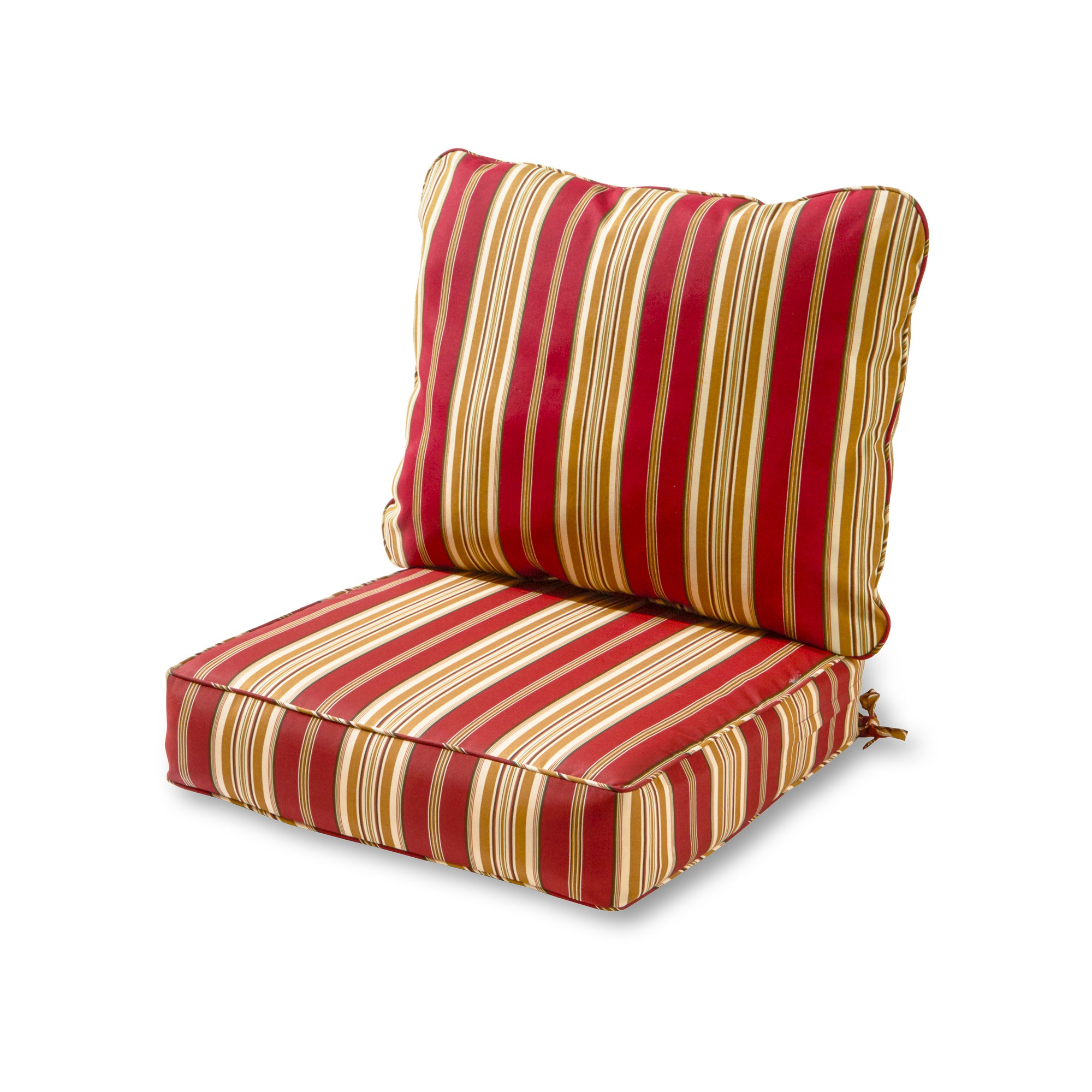 outdoor deep seat cushion set roma stripe greendale home rh pinterest nz