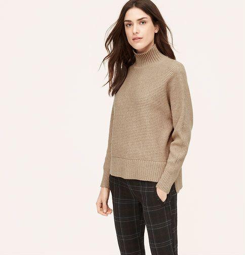 LOFTRelaxed Mock Neck Sweater$69.50