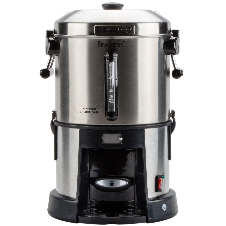 Hamilton Beach Hcu045s Brewstation 45 Cup 1 75 Gallon Coffee Urn 120v Coffee Coffee Urn Cheap Coffee Machines