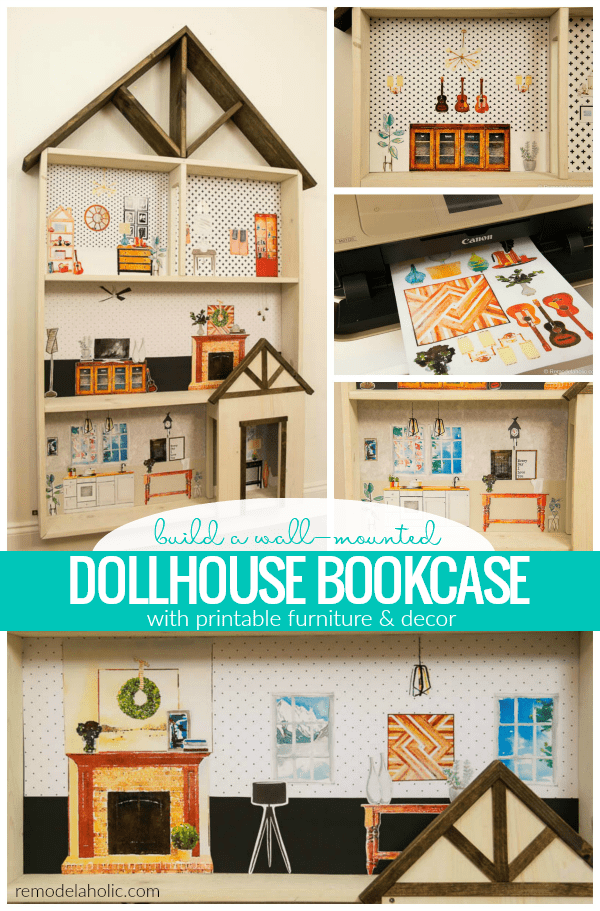 Diy Dollhouse Tutorial Free Printable Dollhouse Furniture Dollhouse Furniture Plans Diy Dollhouse Furniture Dollhouse Woodworking Plans