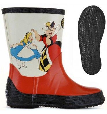 Superga  Stivali in  gomma  CARTOON 756-DSN ALICEQUEENRBRJ Country  Bambino   Bambina c3ff39ec29d