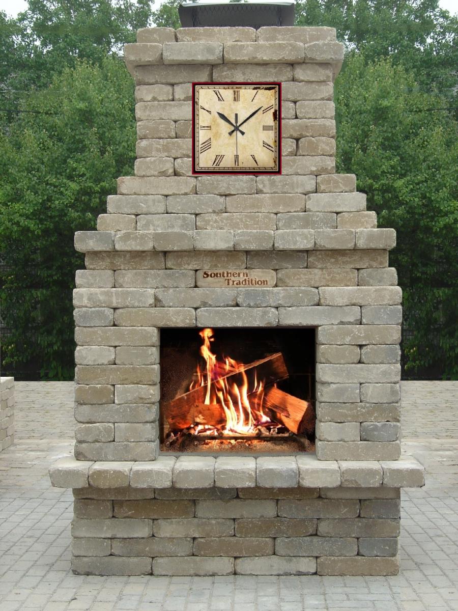 southern tradition outdoor fireplace beautiful stonework rh pinterest com au