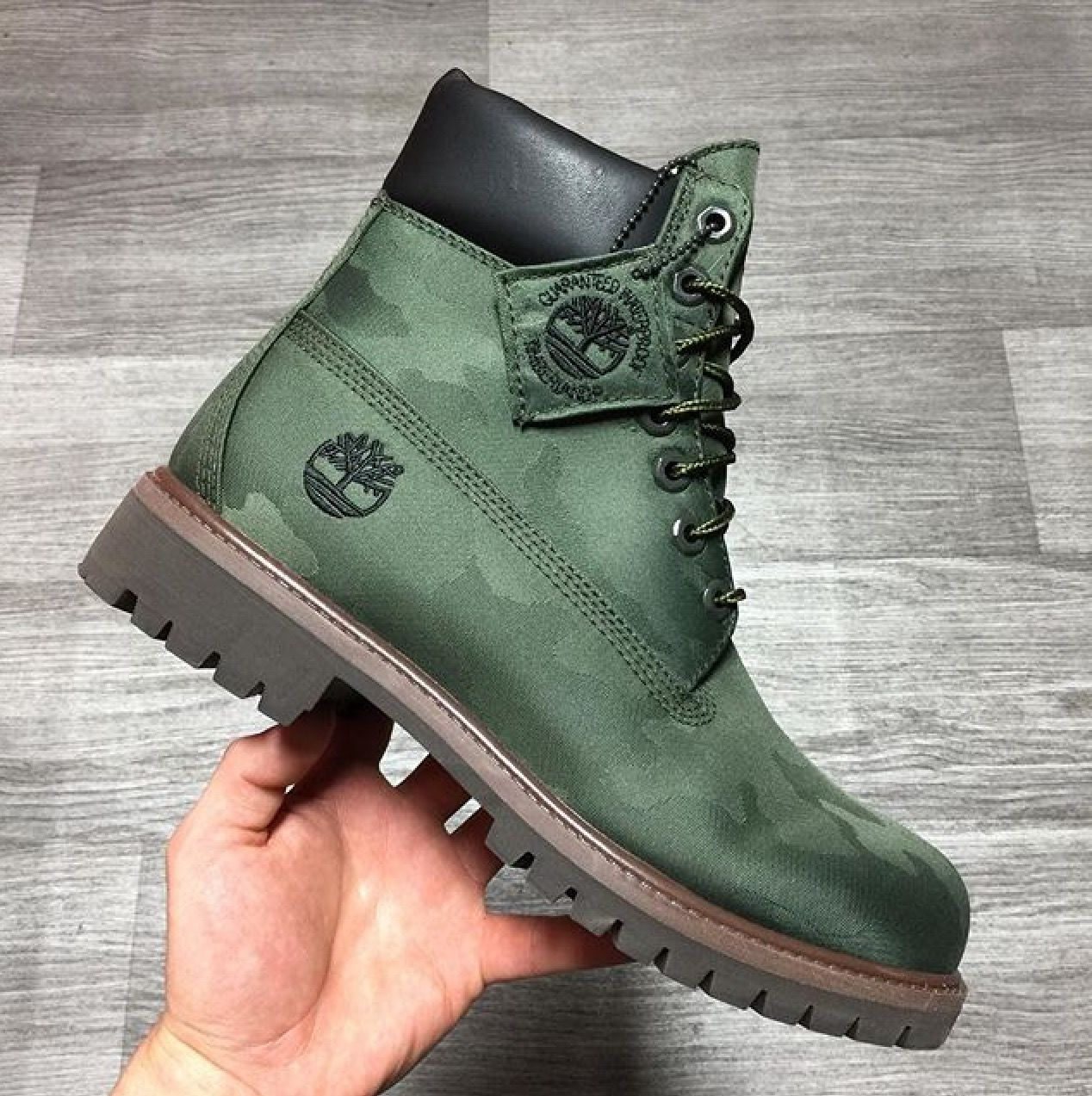 Green Camo. | TIMBERLANDS in 2019 | Shoes boots timberland