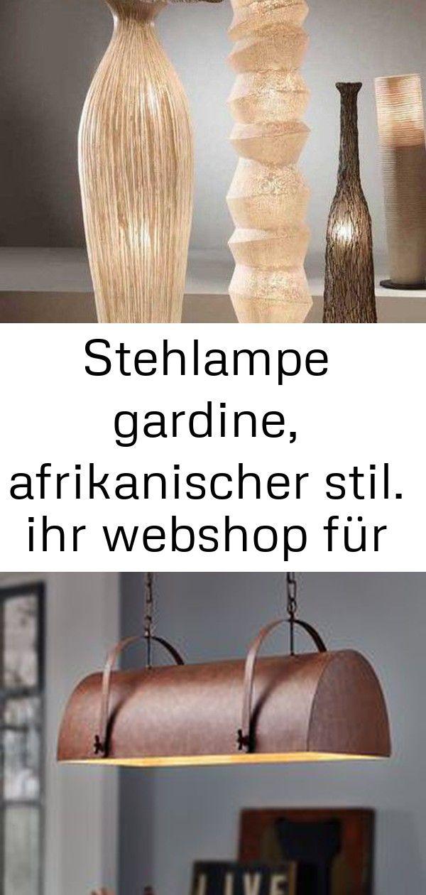 Stehlampe gardine, afrikanischer stil. ihr webshop für dekorative lampen und leuchten. #afrikanisc 3 #afrikanischerstil