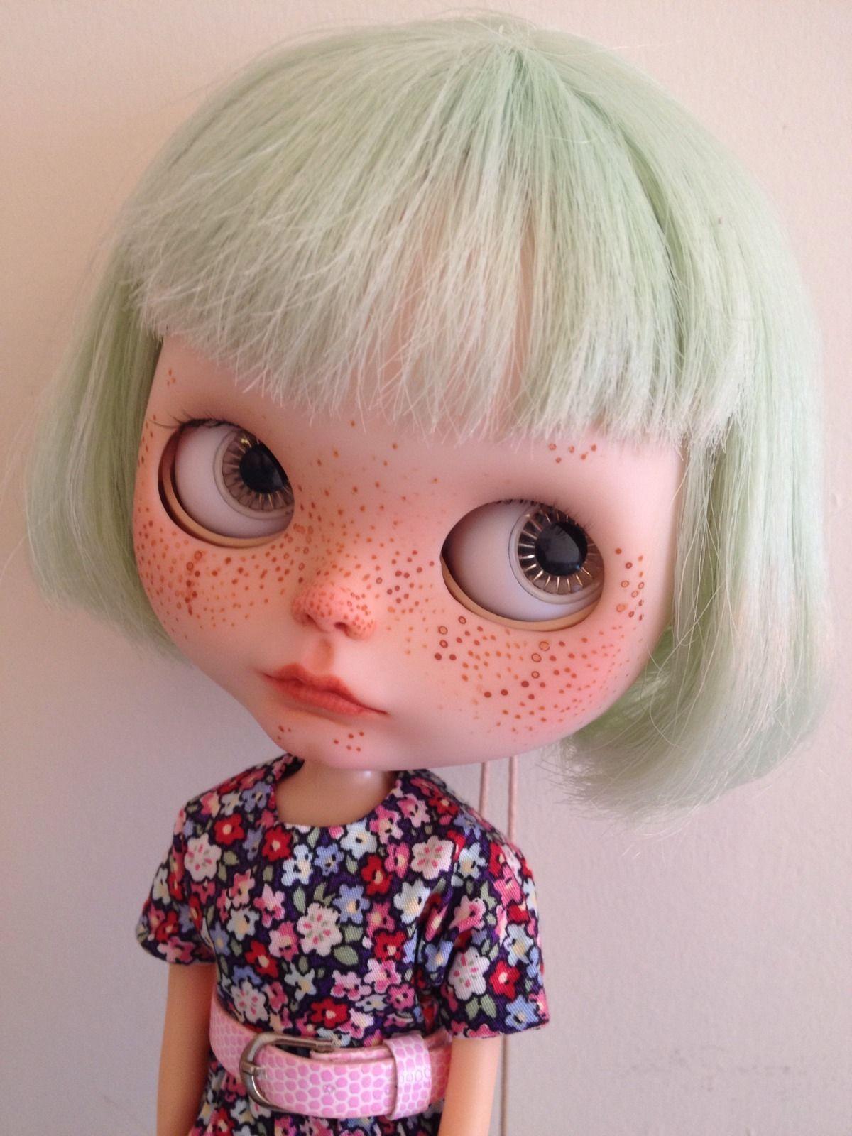 Blythe Doll Genuine Takara Custom Ooak Simply Peppermint With Box | eBay