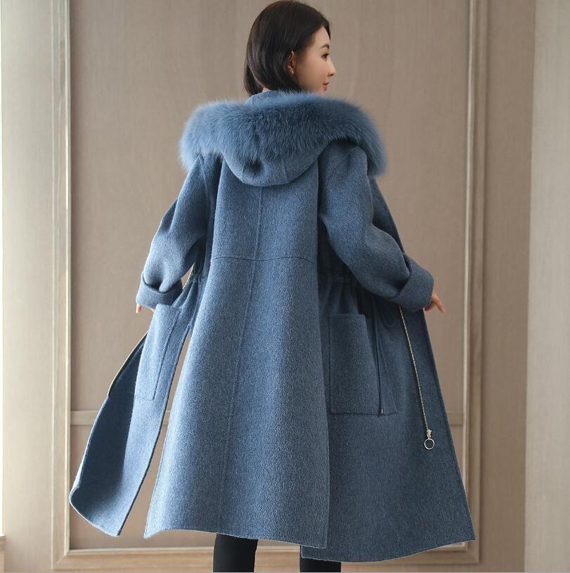 Manteau en laine femme pas cher