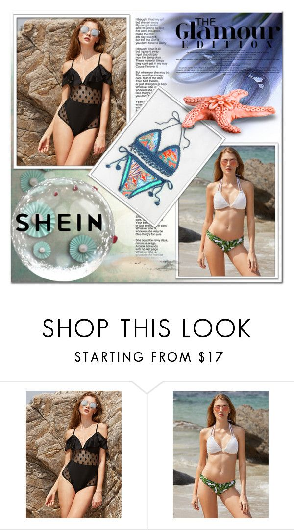 """SheIn 7"" by azra-v ❤ liked on Polyvore featuring WithChic"