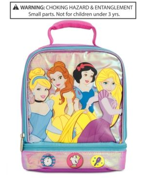 1ff04aba1702 Disney's Little & Big Girls Princesses Insulated Lunch Bag - Purple ...