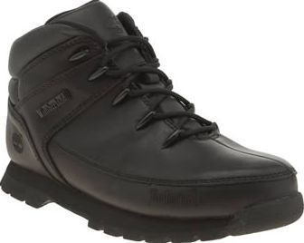 Timberland Black Euro Sprint Unisex Youth Little Urban explorers can stay rock steady thanks to the