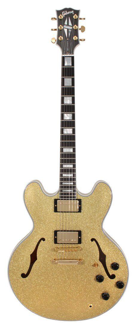 Gibson Custom Shop ES-355 Gold Sparkle