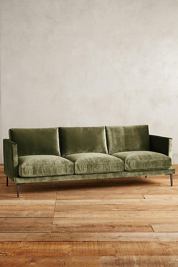 slub velvet linde sofa furniture velvet furniture sofa rh pinterest ca