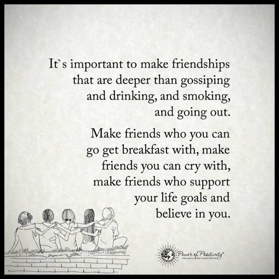Quotes About Friendship And Support Friendship Quotes  It's Important To Make Friendships That Are