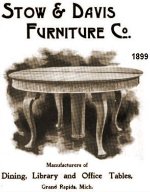 Stow Davis Furniture Co Grand Rapids Michigan 1885 Present