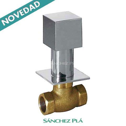 Llave de paso de corte de agua de dise o cuadrado slim for Llave de paso de agua