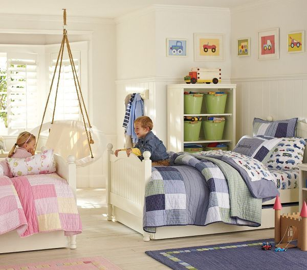 Sister and Brother Sharing Space | Rooms For Kids of All Ages ...