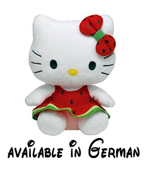 Ty Licensed Beanie Hello Kitty Watermelon Baby Soft Toy by Ty. #Toy ...