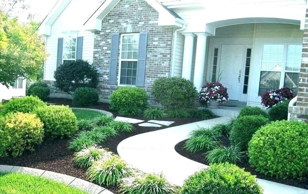 Landscape Design Build Residential Landscaping Small Front