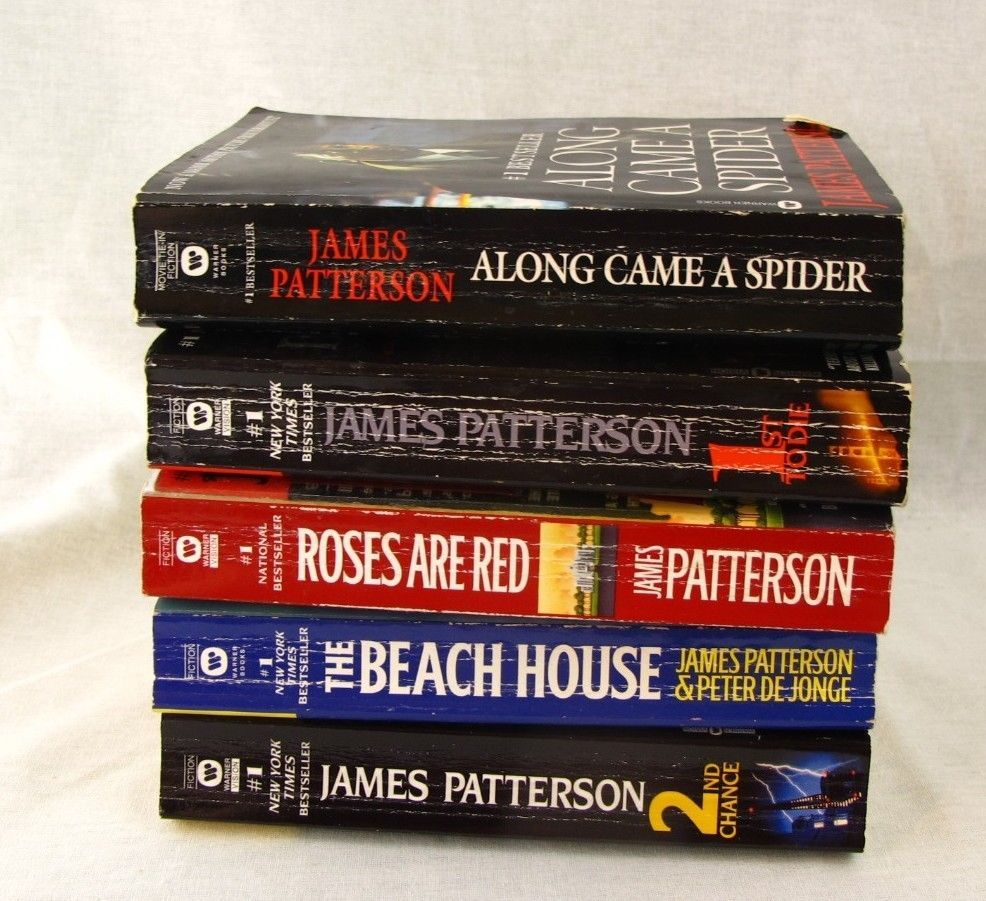 James Patterson Lot Of 5 Paperback Books Collection Beach