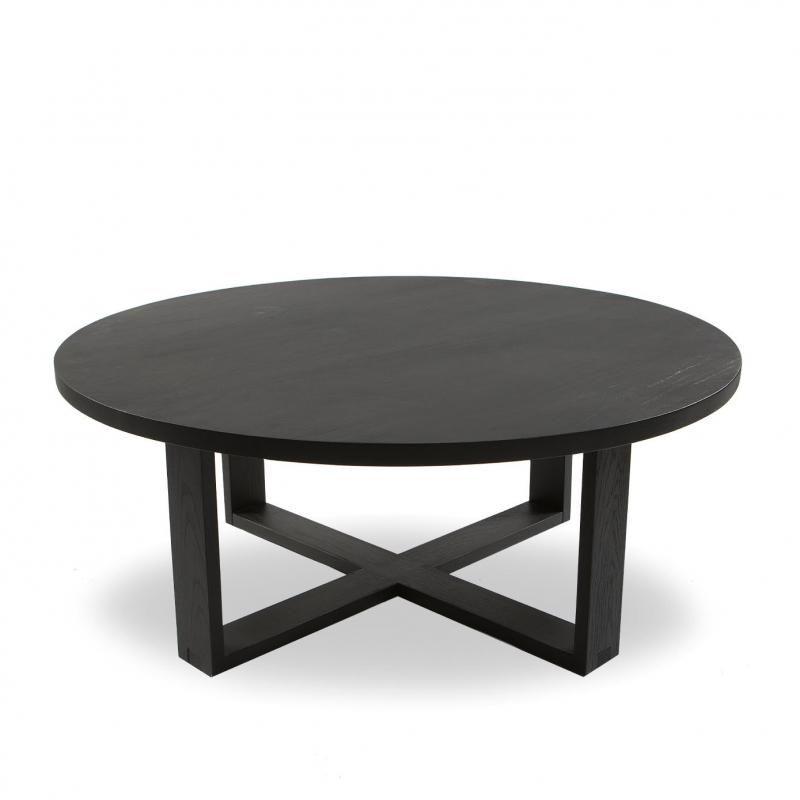 solid black stained oak diameter 100cmheight 40cm please note as rh pinterest com