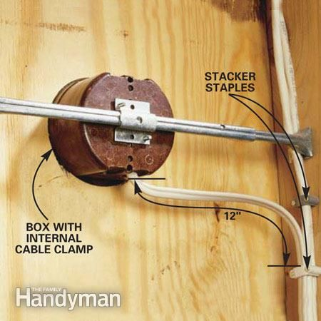 how to wire a garage (unfinished) electrical wiring garage Wire Garage Lights how to wire a garage (unfinished)