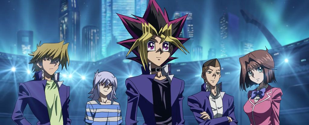Screenvision Media Teams Up With 4k Media To Bring Yu Gi Oh The Dark Side Of Dimensions To Cinemas In Yugioh Dark Side Of Dimensions Seven Deadly Sins Anime