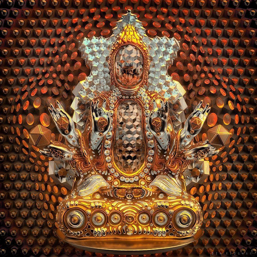 "Ben Ridgway on Instagram: ""Dispel Illusion #buddha #buddhastatue"