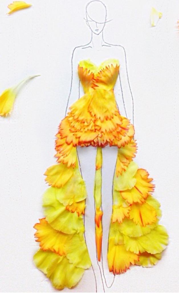 Ideias Xiques ~ Grace Ciao flower dresses, www chloedugas com DIY e trabalhos manuais Pinterest Desenhos