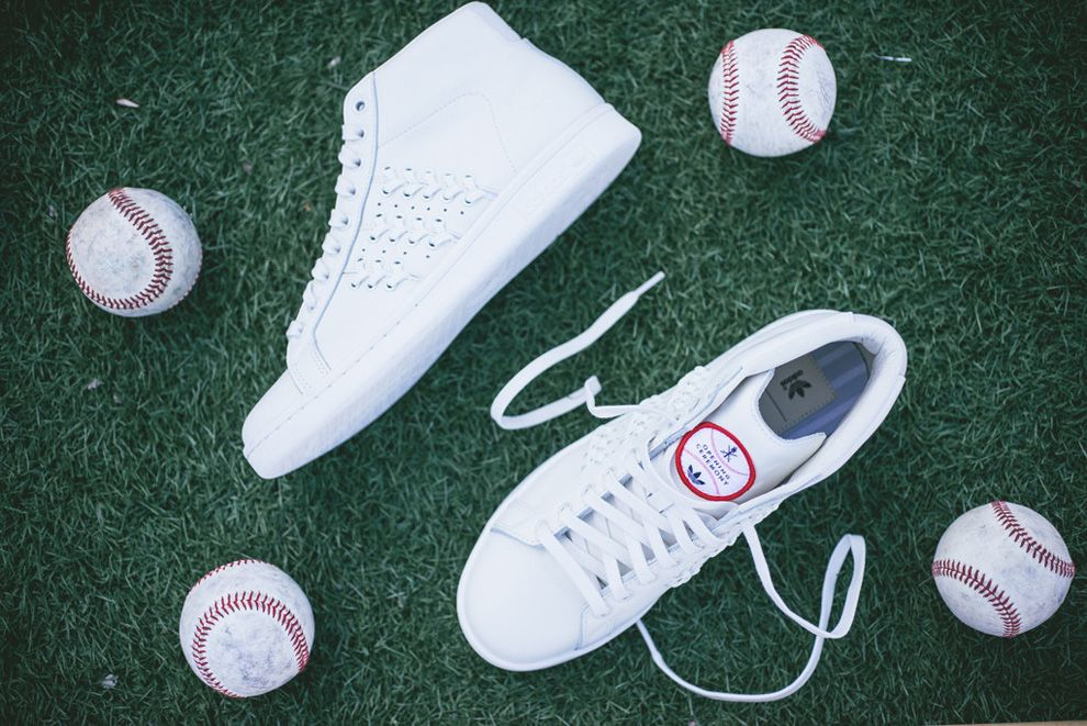 adidas stan smith baseball opening ceremony