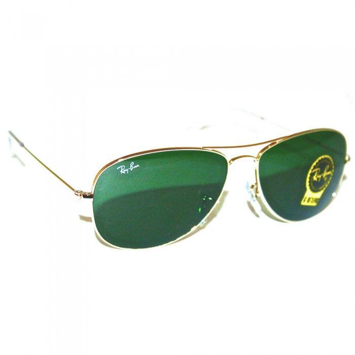 Ray-Ban Sunglasses Mens Cockpit Aviators   RB3362   001   Green Gold   Sale    UK   Designer Man  rayban  style  mensfashion  summer d89c70c29f