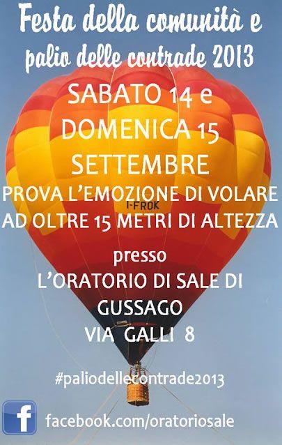 Festa della Comunità e Palio delle Contrade a Gussago http://www.panesalamina.com/2013/16186-festa-della-counita-e-palio-delle-contrade-a-gussago.html