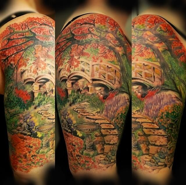 Pin By Barbara Gargano On Secret Garden Garden Tattoos Tattoos Sleeve Tattoos