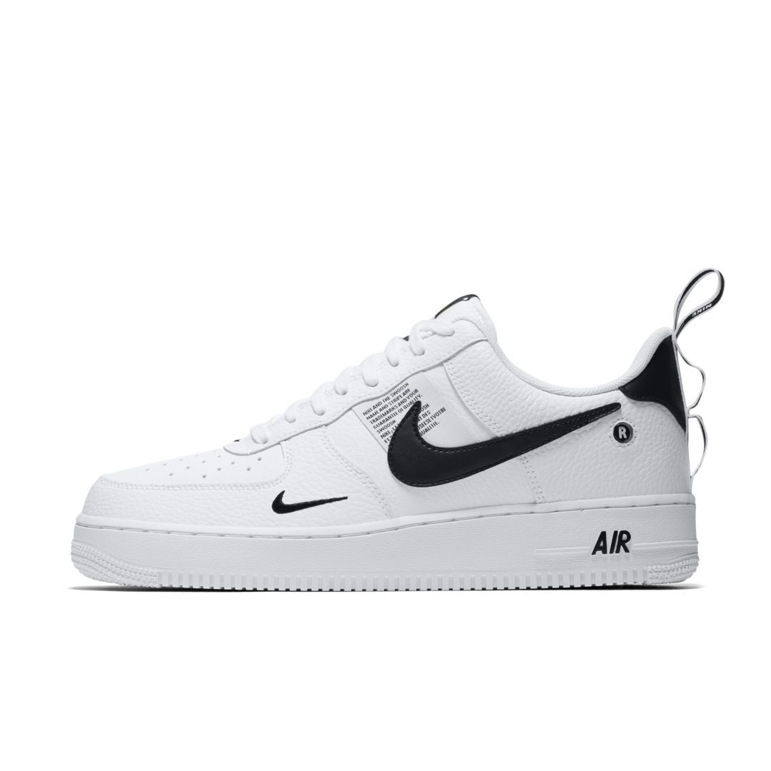 Nike Air Force 1 '07 LV8 Utility Men's Shoe Size 12.5 (White