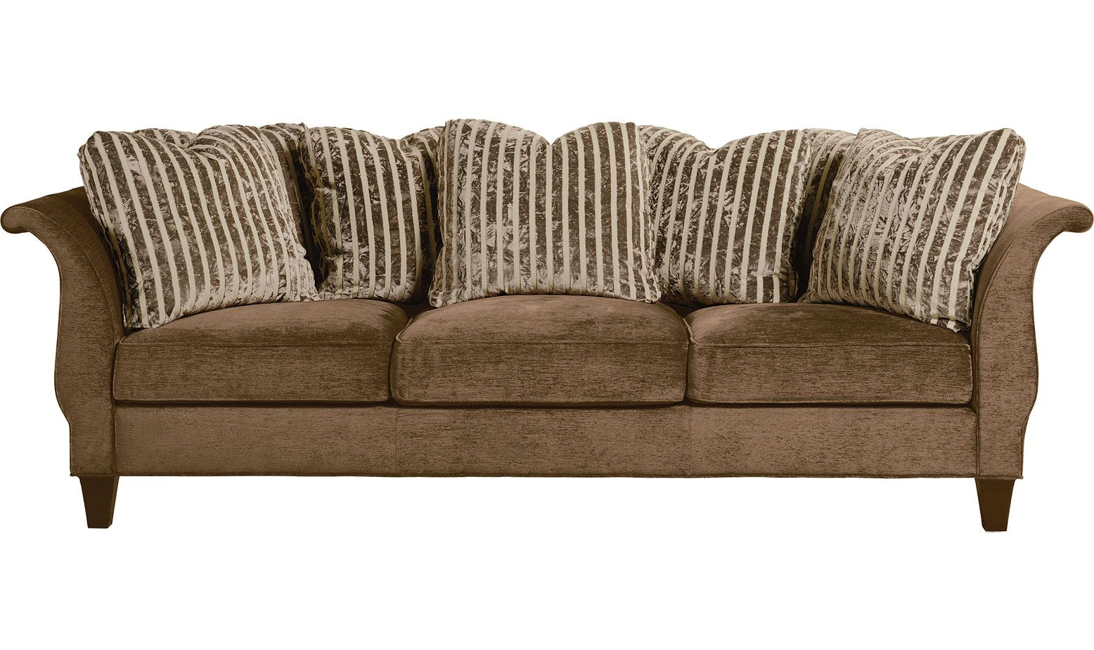 tightly upholstered roll arm sofa with the roll continuing on the rh pinterest com