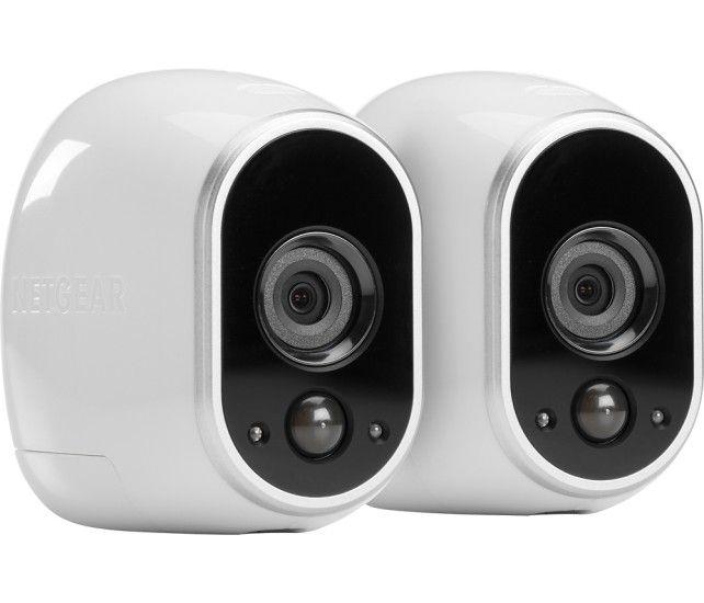 NETGEAR - Arlo Smart Home Indoor/Outdoor Wireless High-Definition ...