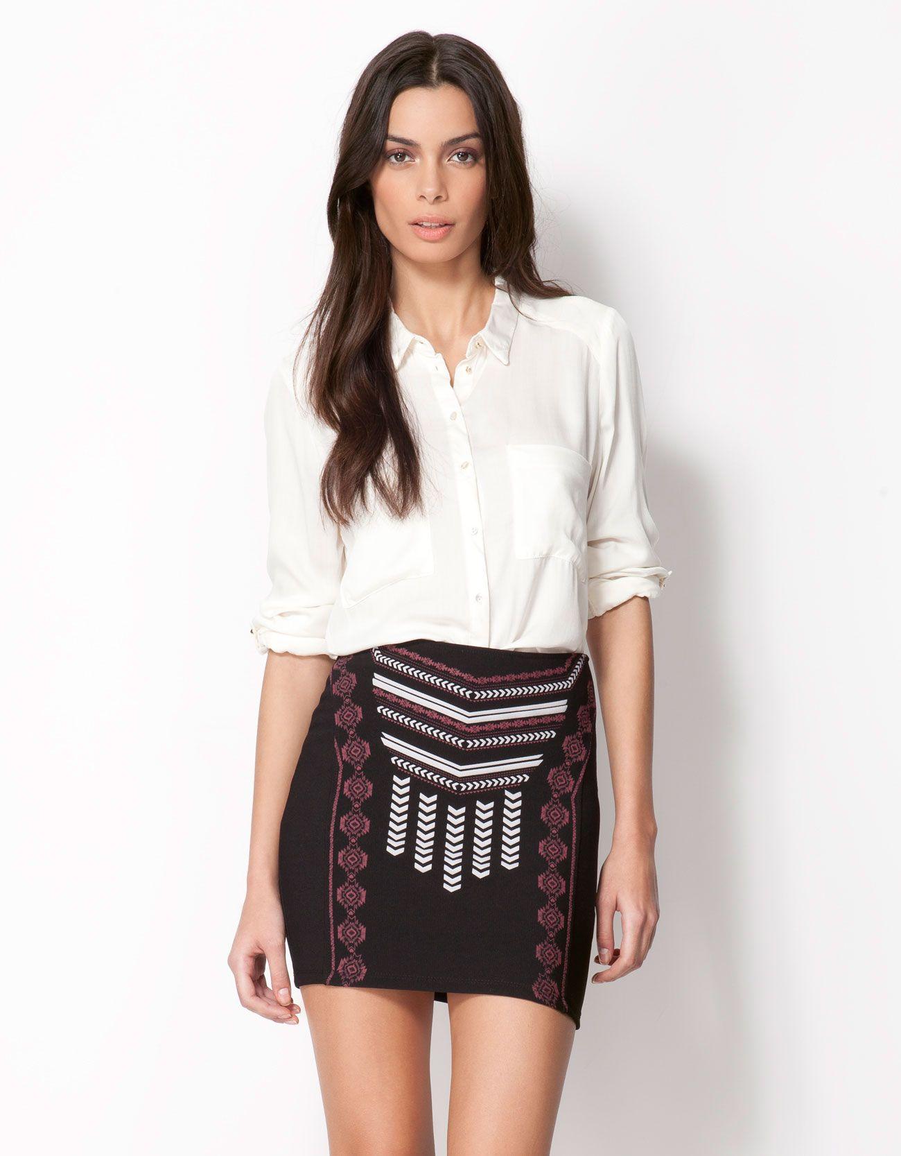 b90b35948 Bershka Lebanon - Bershka coloured shirt | Clothes & Shoes | Fashion ...